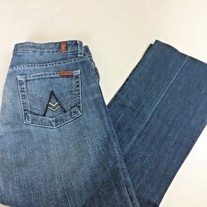 7 for all mankind A pocket jeans sz 28 x 25 jeans
